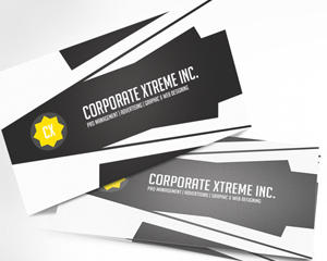 Corporate Business Card Design by ShermanJackson - 3219