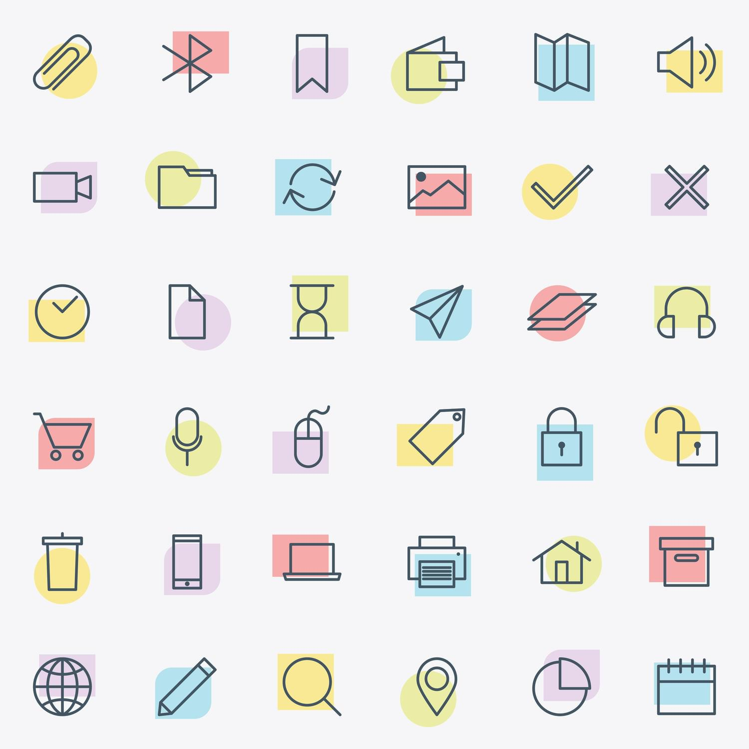 Custom Design Icon Set by snja - 115034