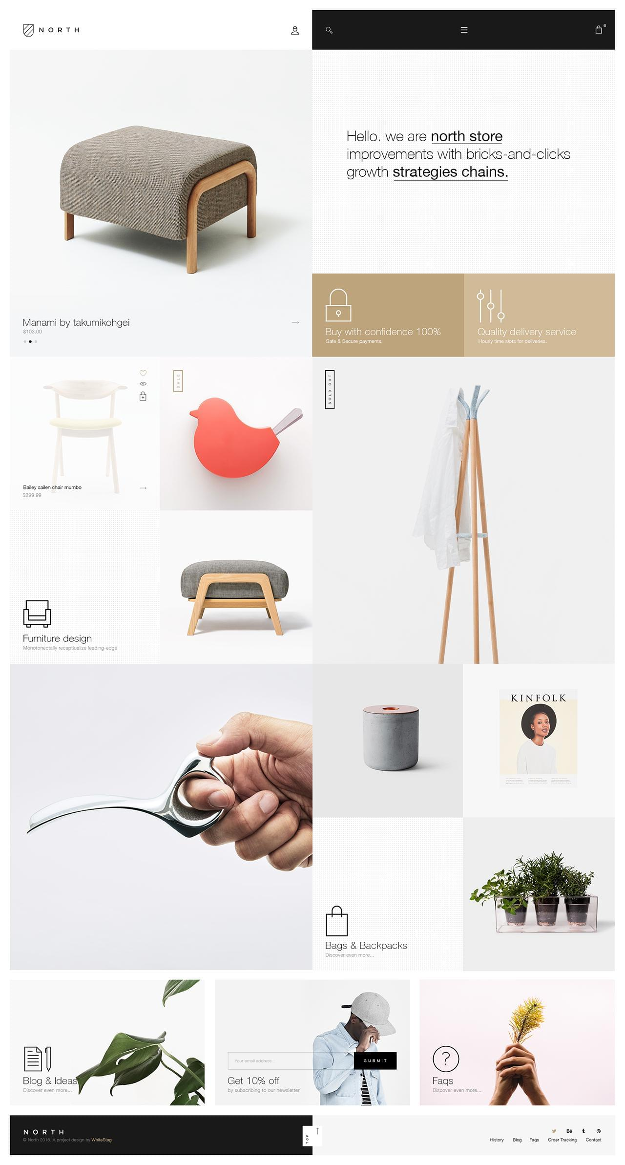 Home Page Web Design and Redesign by Fami_Themes - 111275