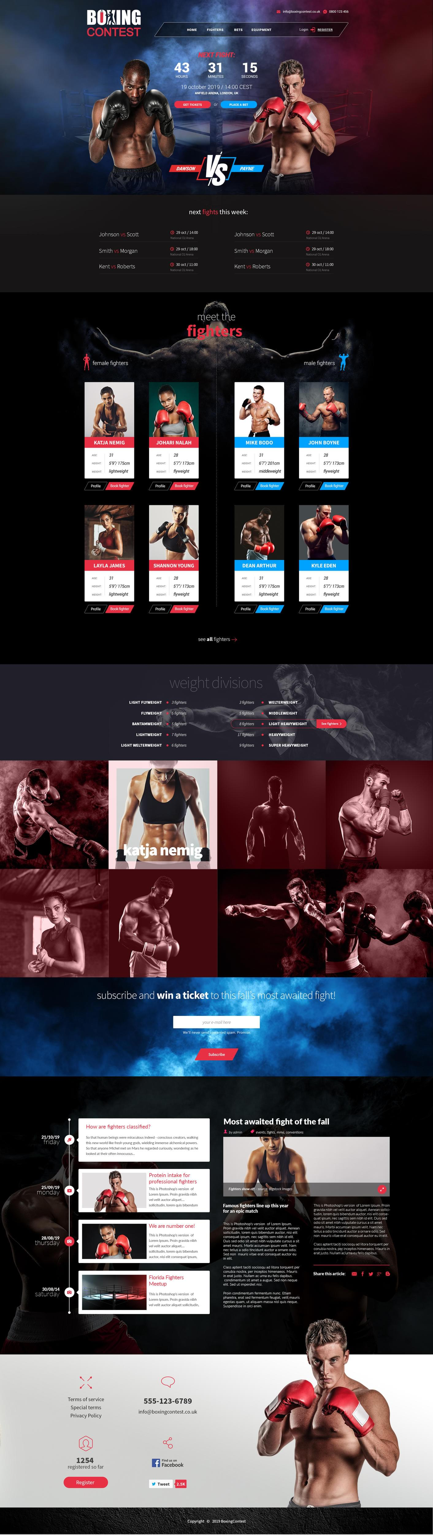 High-Quality and Creative Onepage Design by ikaruna_design - 117376