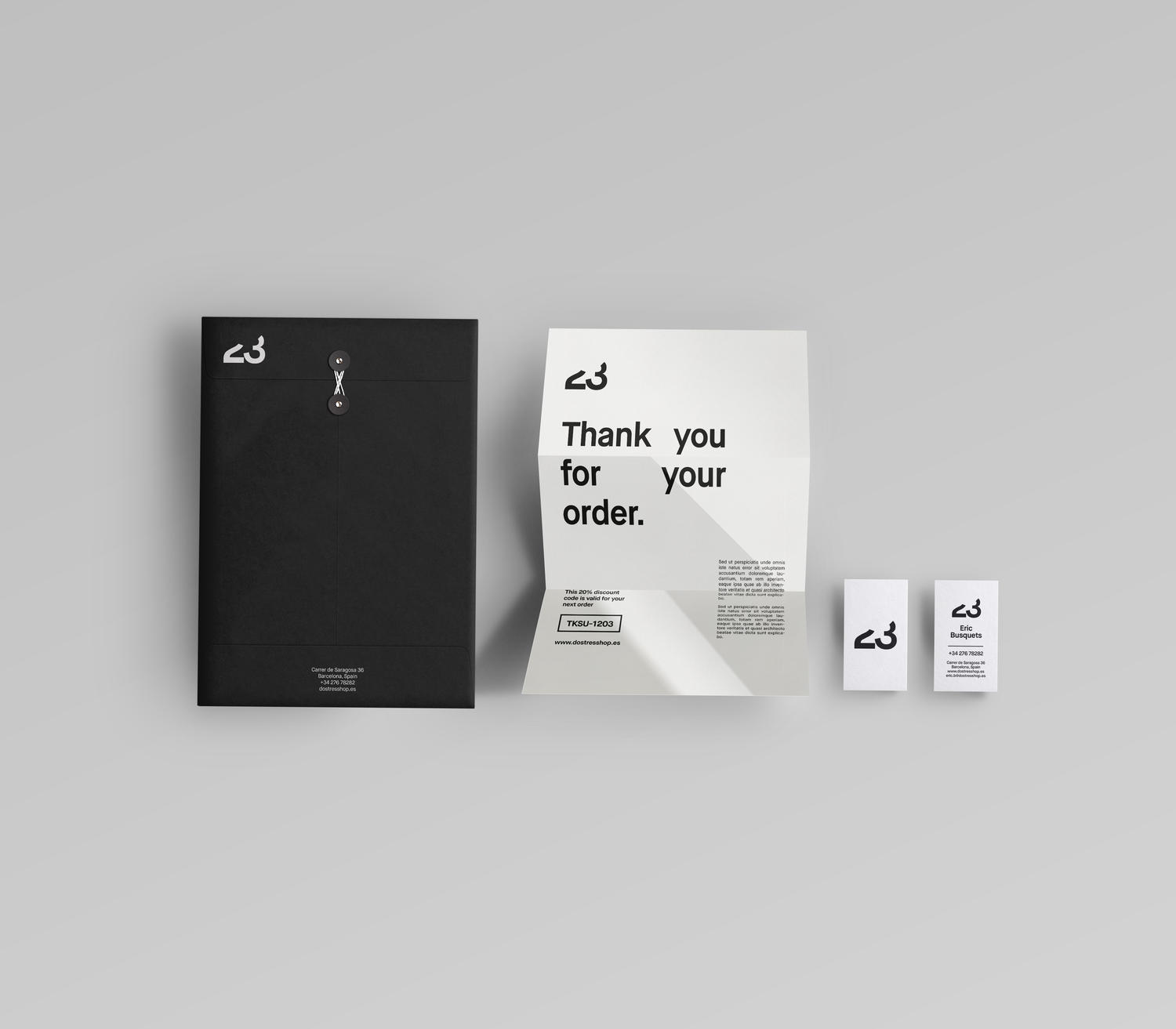 Clean Brand Identity Design (Logo + Stationery) by fat_and - 59339