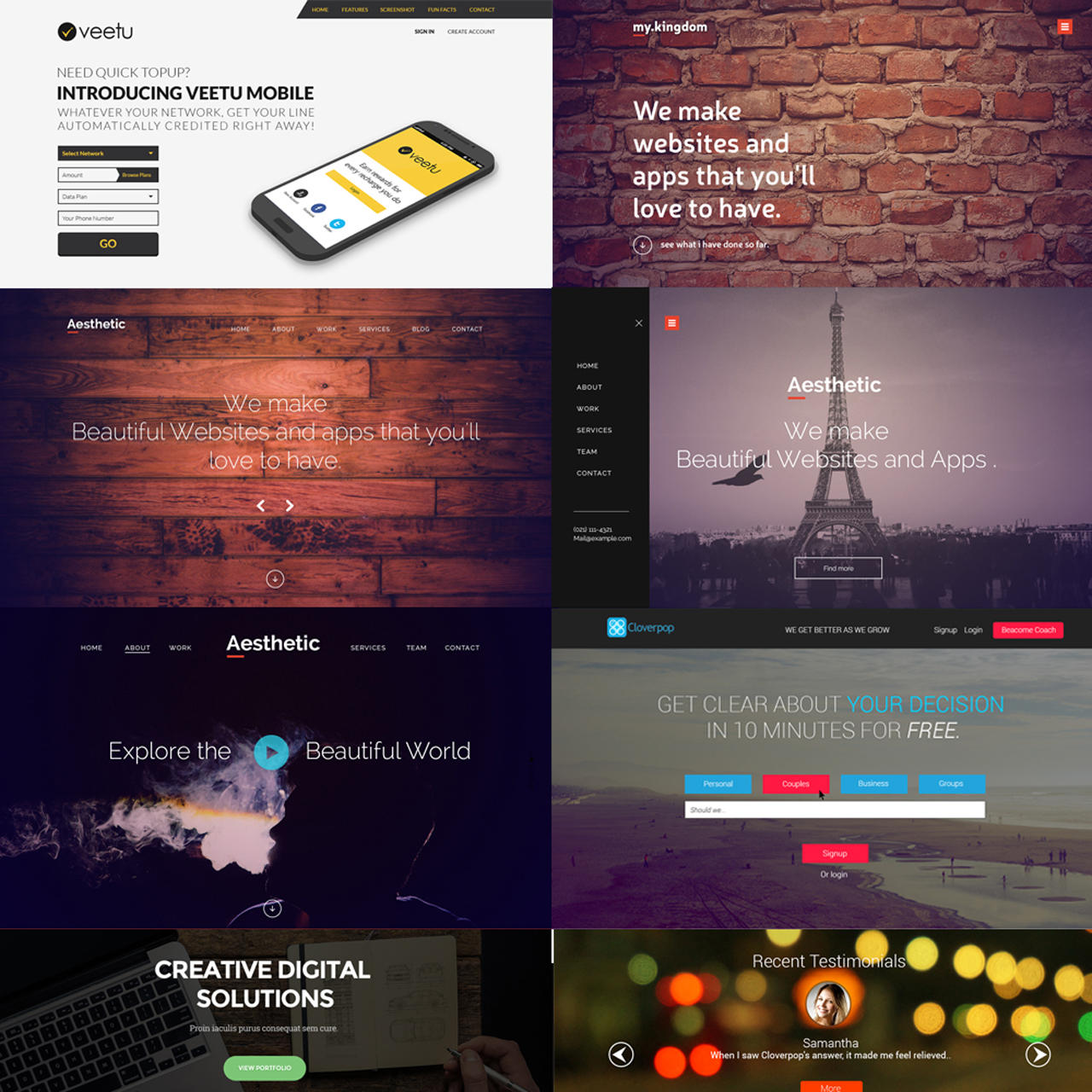 PSD to Responsive HTML5 Website by HammadSiddiqui - 66696