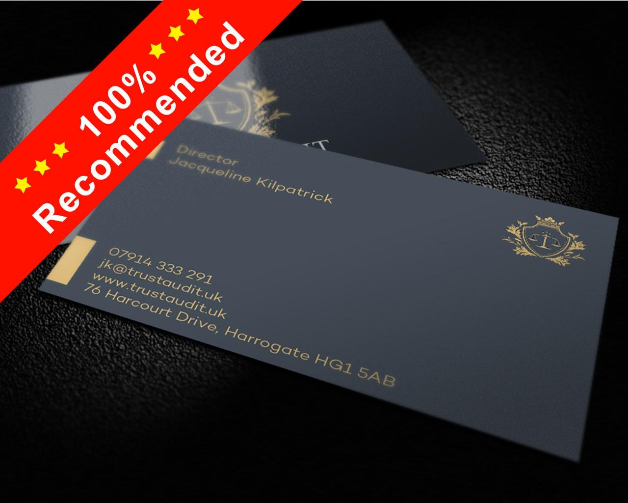 Premium Style Business Card Design by shujaktk - 112354
