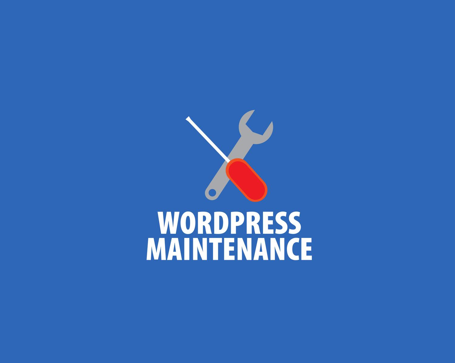 Wordpress Maintenance: Keep your system at bay, backups, updates, security. by eDesignsCompany - 106012