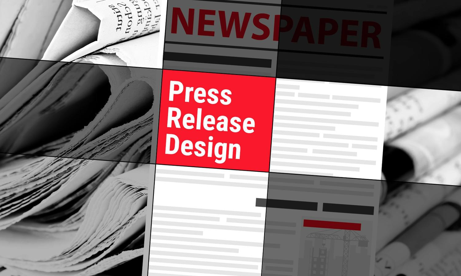 Press Release Design by madridnyc - 111678