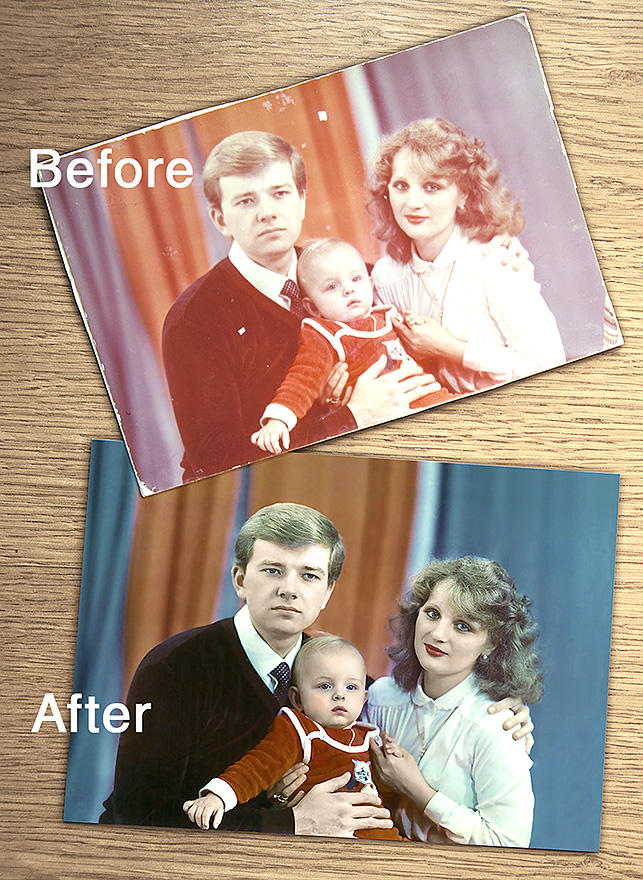 Any Photo Restoration by kotjara13 - 9509