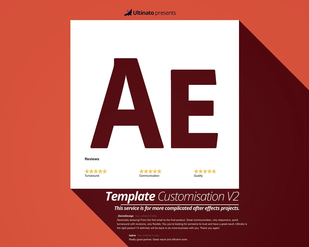 After Effects Template Customisation V2 by Ultinato - 111986