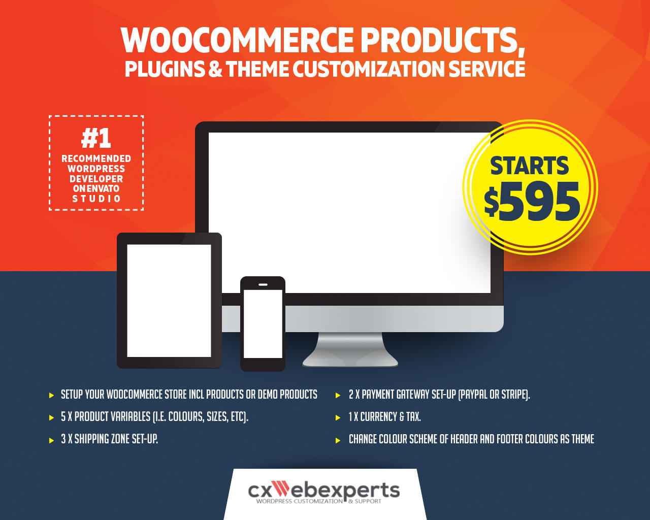 Woocommerce Products, Plugins & Theme Customization Service by CXWebExperts - 108170
