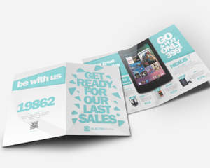 professional bi fold brochure design by unicogfx on envato studio
