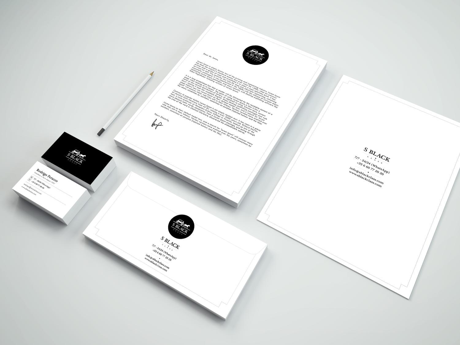 Professional Business cards, Letterheads, Envelopes and Brand Logo  by idesignera - 113270