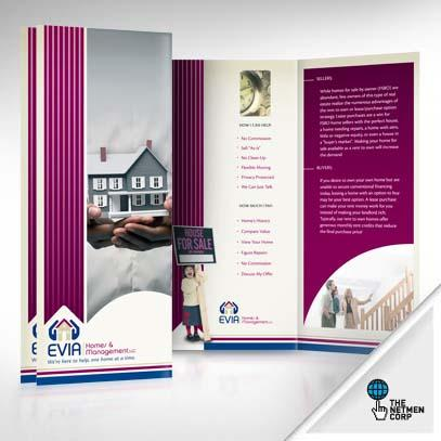 100% Custom and Original Brochure Design by thenetmen - 12731
