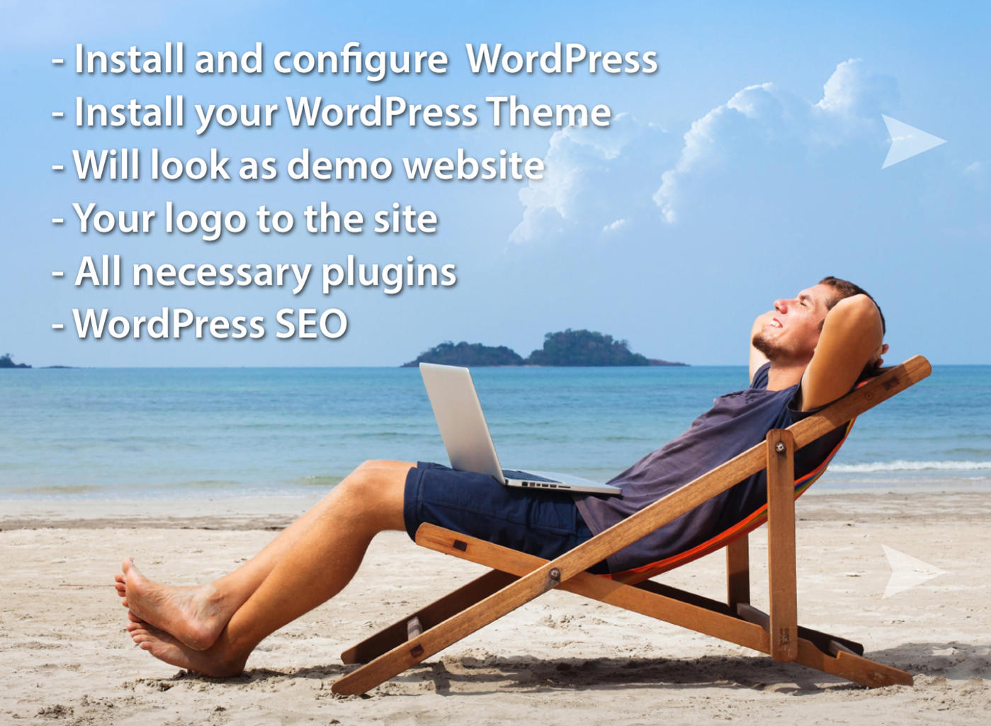 WordPress All-In-One (Theme & Demo Setup, SEO and more) by 22min - 75097