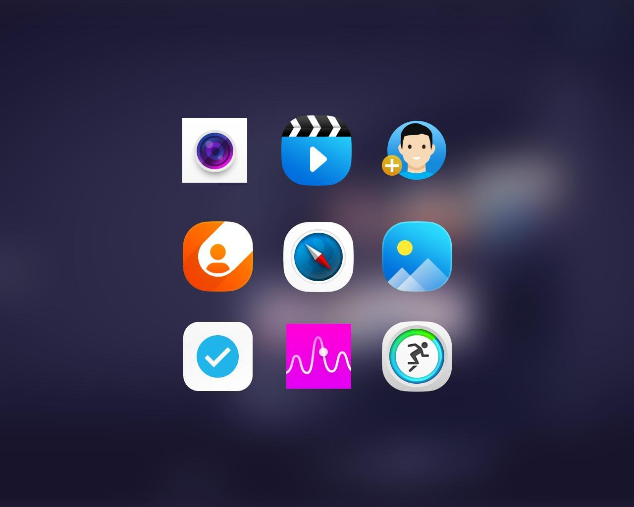 iOS & Android Icons Design  by ufsdesign - 112197