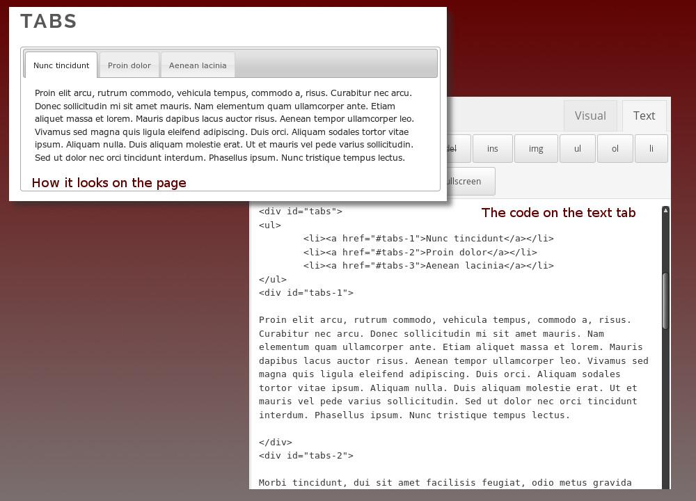 Set Up Wordpress For jQuery / jQuery User Interface... - Envato Studio
