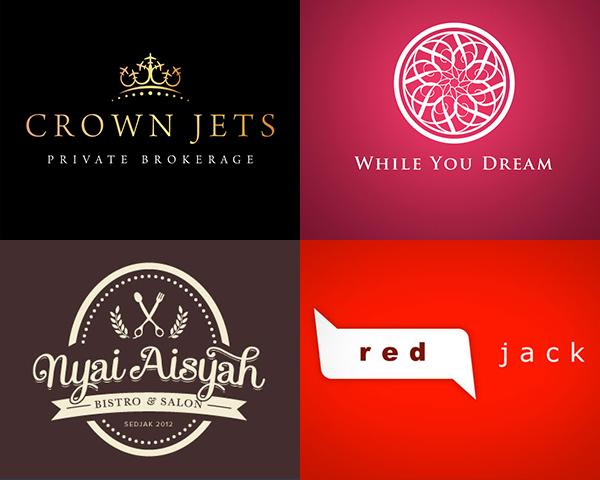 monogram logo design for premium and luxury brand ...