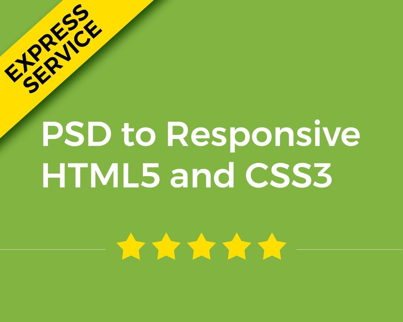 PSD to Responsive HTML5 and CSS3 by BarwalDesigns - 111804