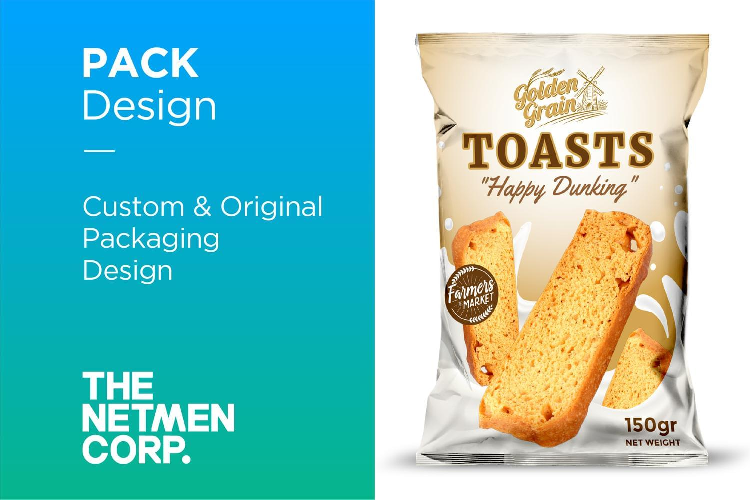 Custom & Original Packaging Design by thenetmen - 119512