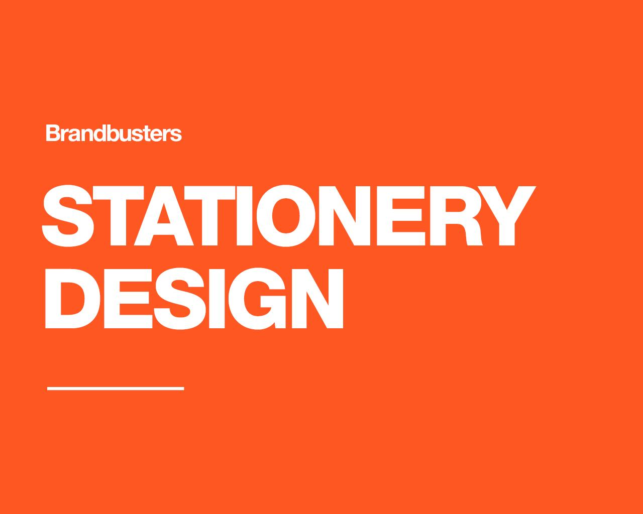 Professional Stationery Design by Brandbusters - 110650