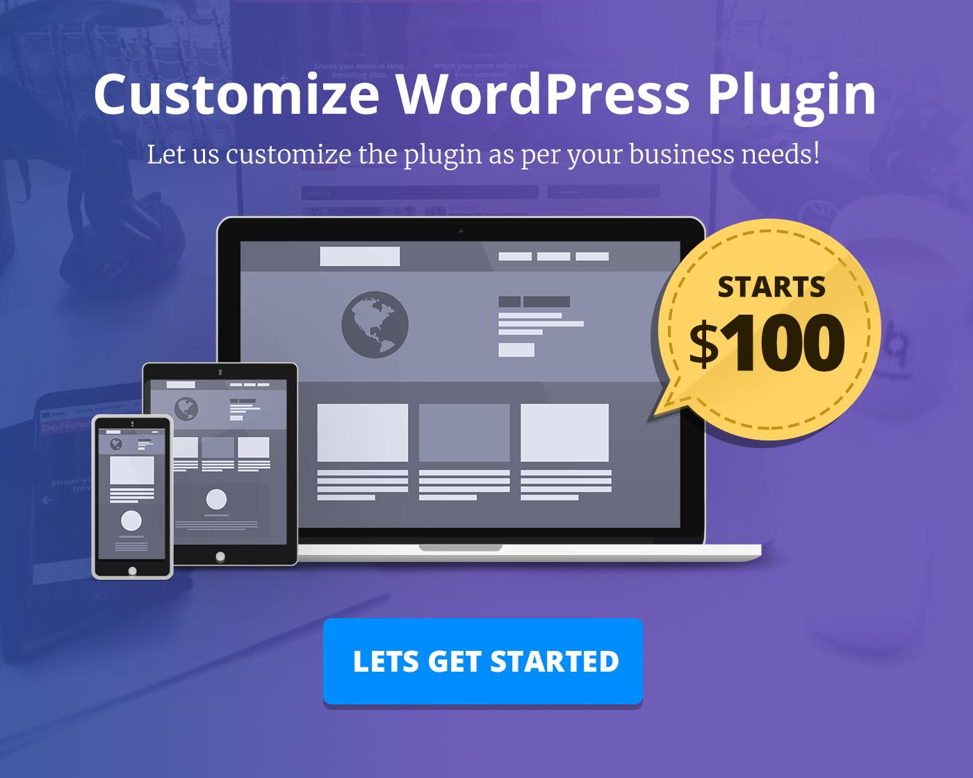 WordPress Plugin Customization by BloomPixel - 110954