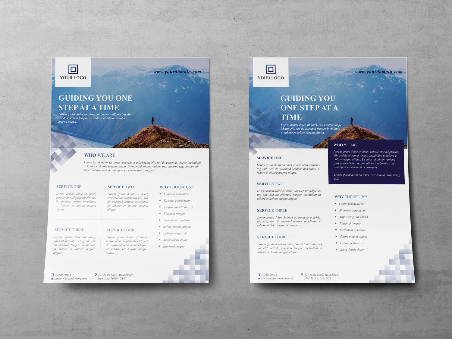 Custom Corporate Flyer Design by ArtyChristina - 107410