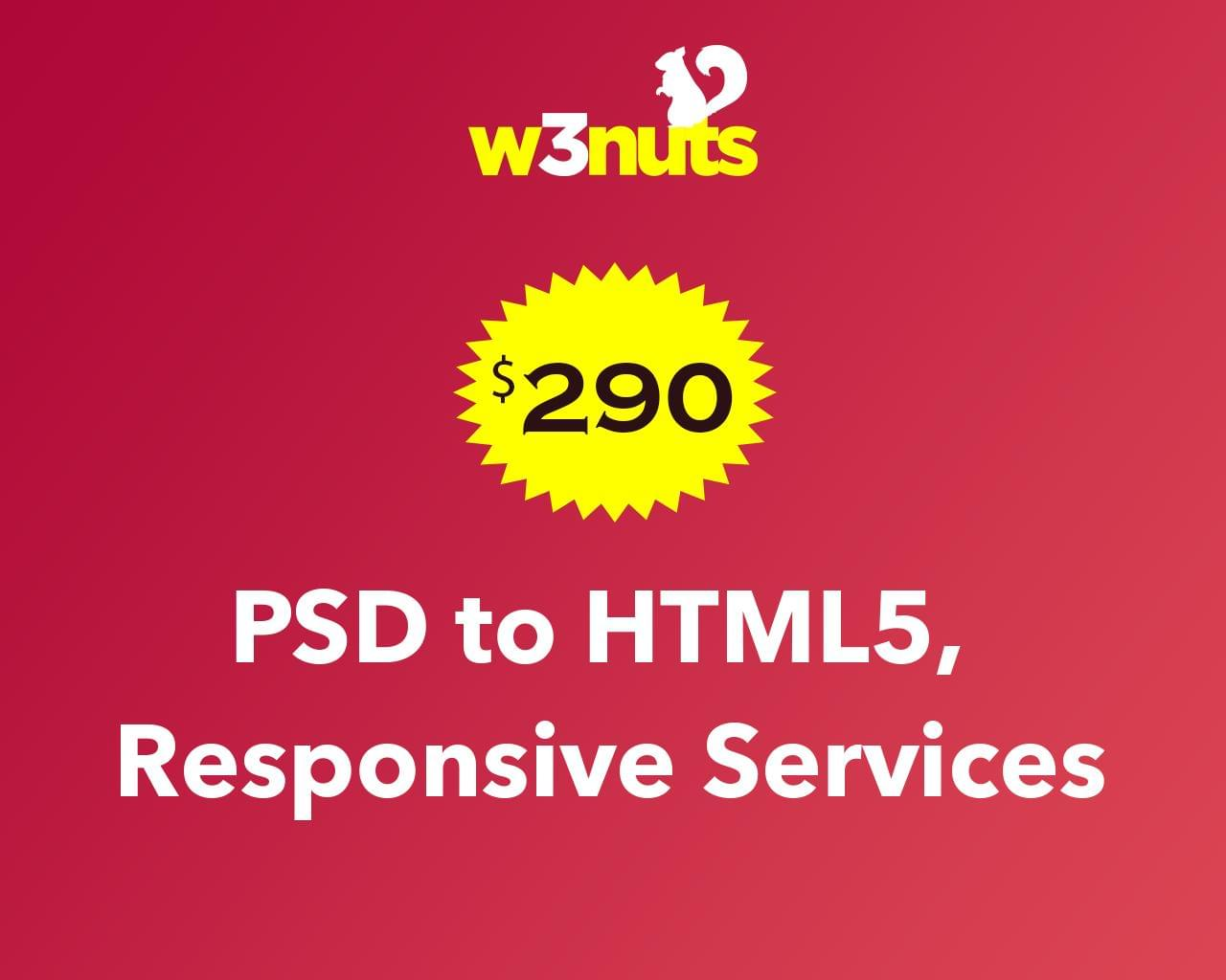 5 Page PSD to HTML5 Responsive by samirkaila - 116123