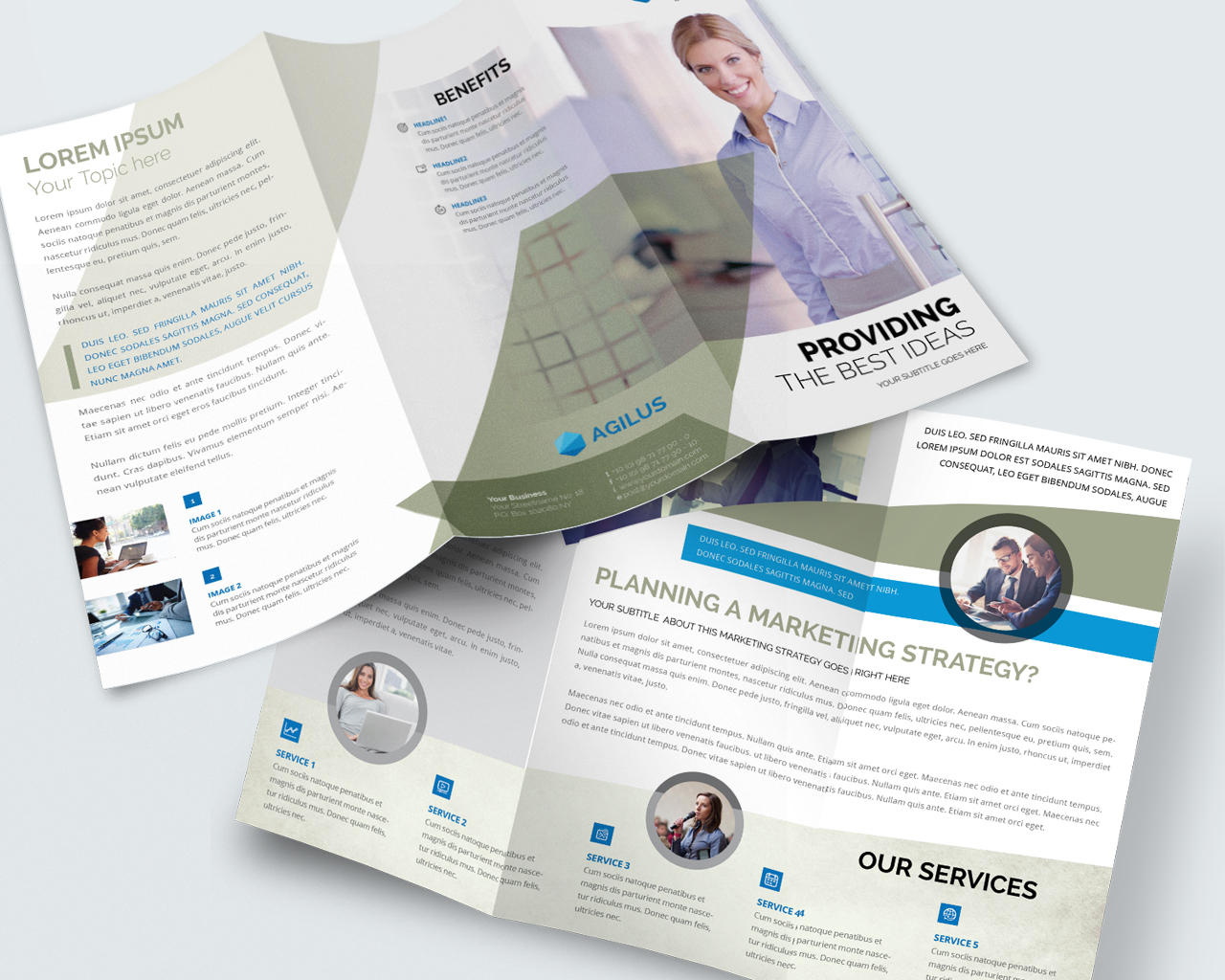 tri fold brochure designs by madridnyc on envato studio
