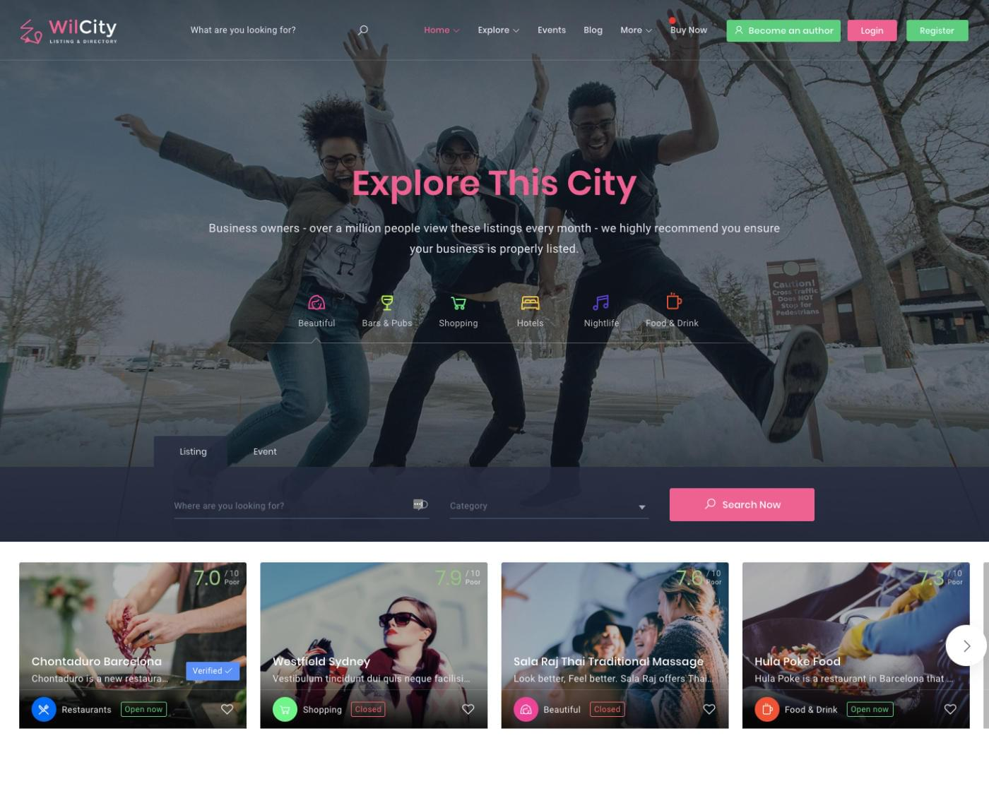 Wilcity Directory Listing WordPress Theme Customization by BloomPixel - 116154