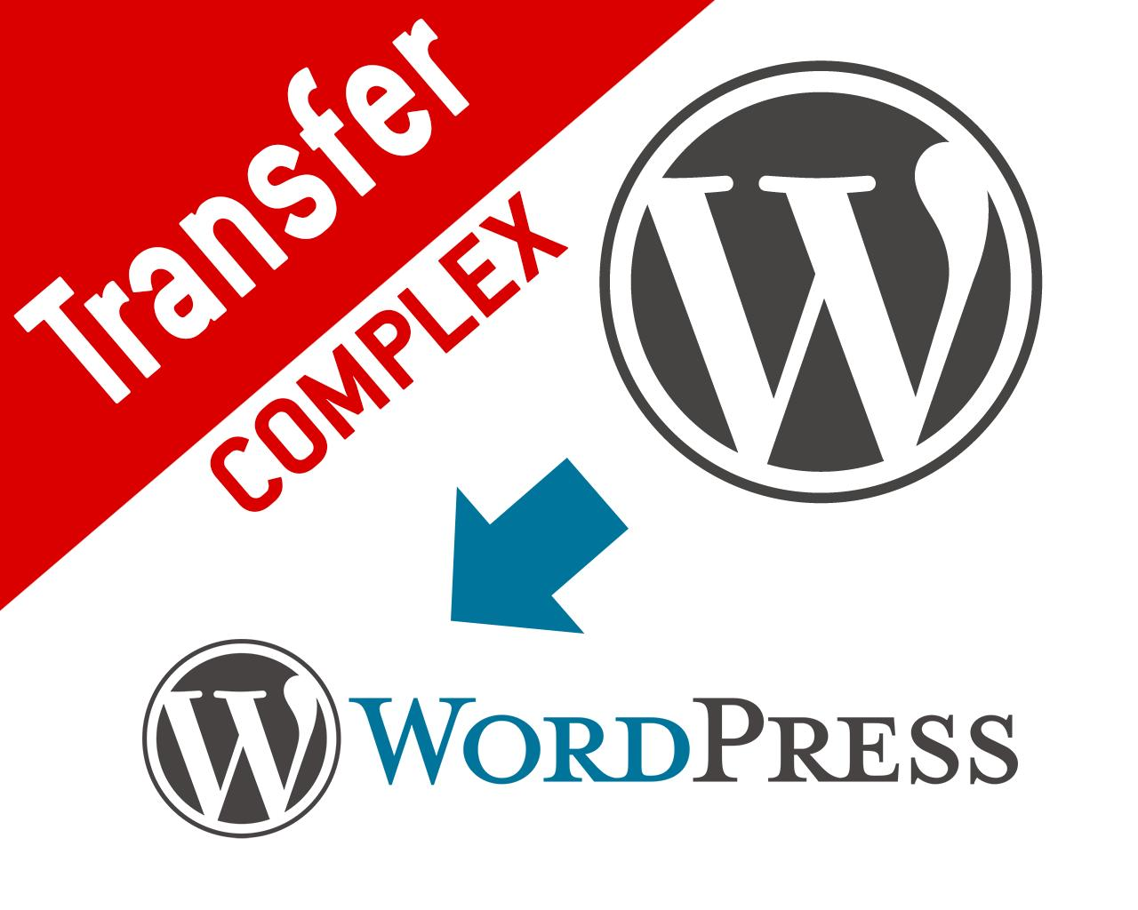 Complex or Big Wordpress Site and Database Transfer or Migration by nyasro - 97776