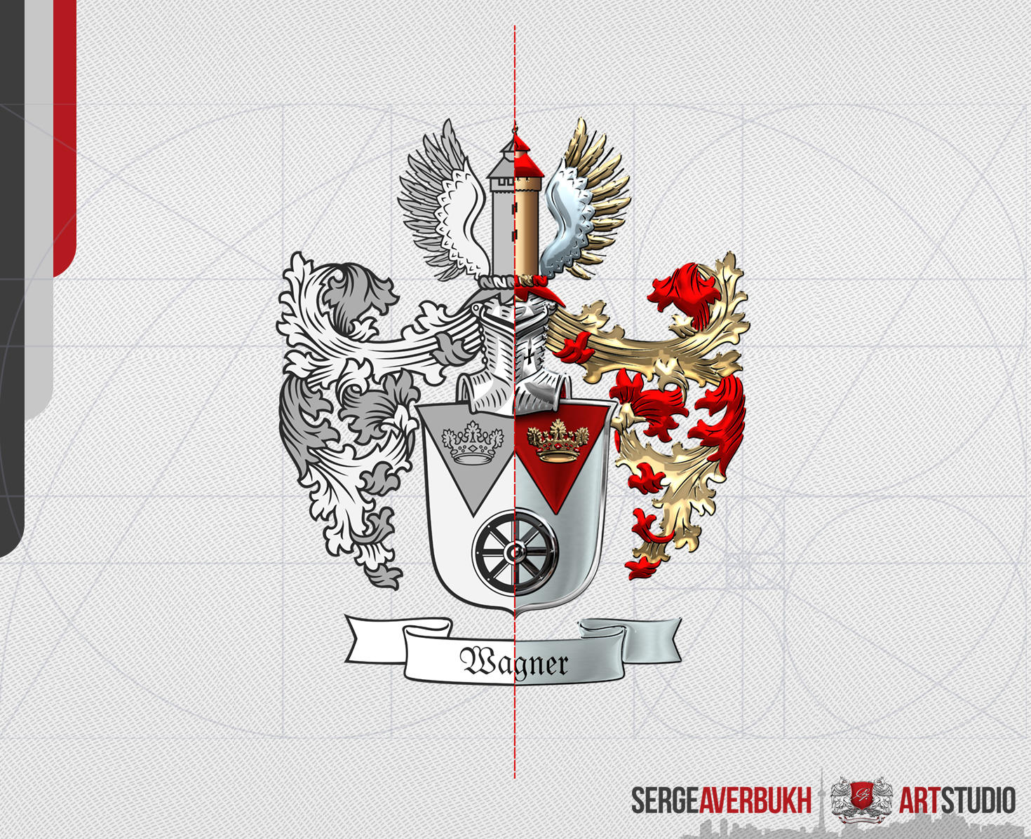 2D Heraldry & Insignia to 2.5D Rendering by Captain7 - 107820