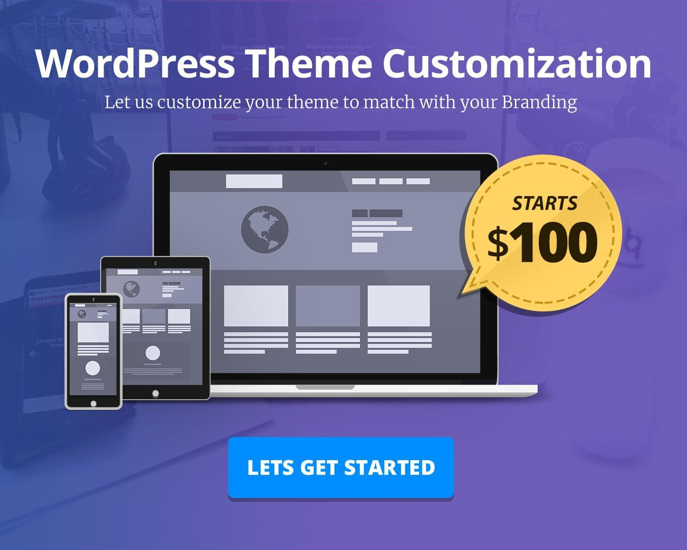 WordPress Theme Customization by BloomPixel - 111874