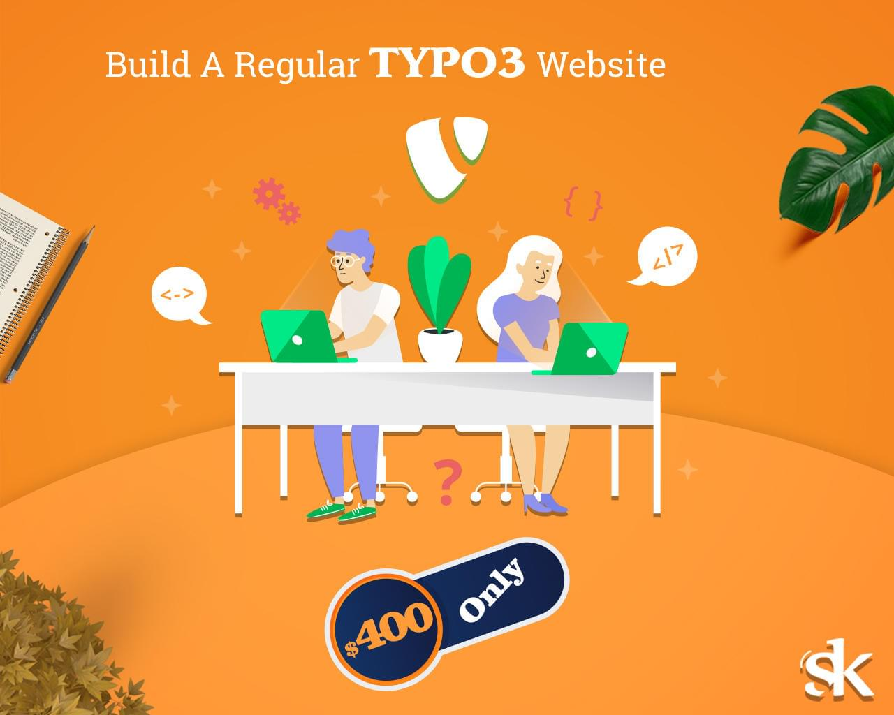 Build A Regular TYPO3 Website by SK-Web-Solutions - 115835