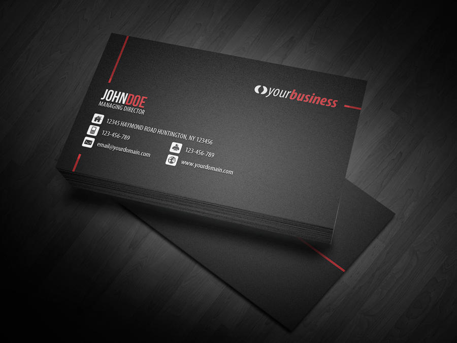Professional business card design by glenngoh on envato studio professional business card design reheart