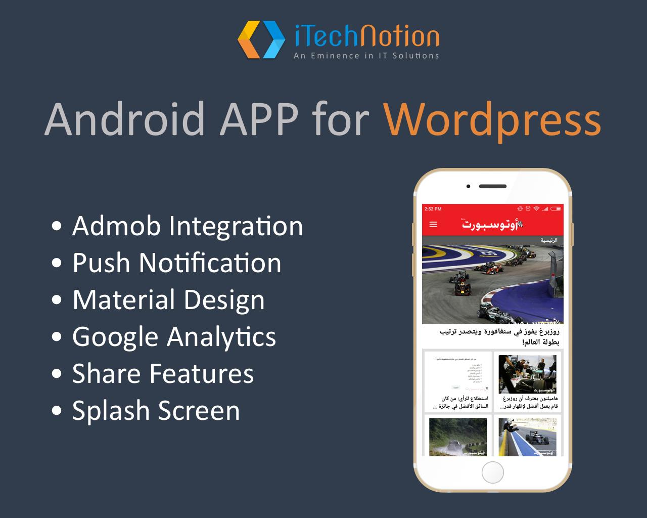 Wordpress to Android App by itechnotion - 102869