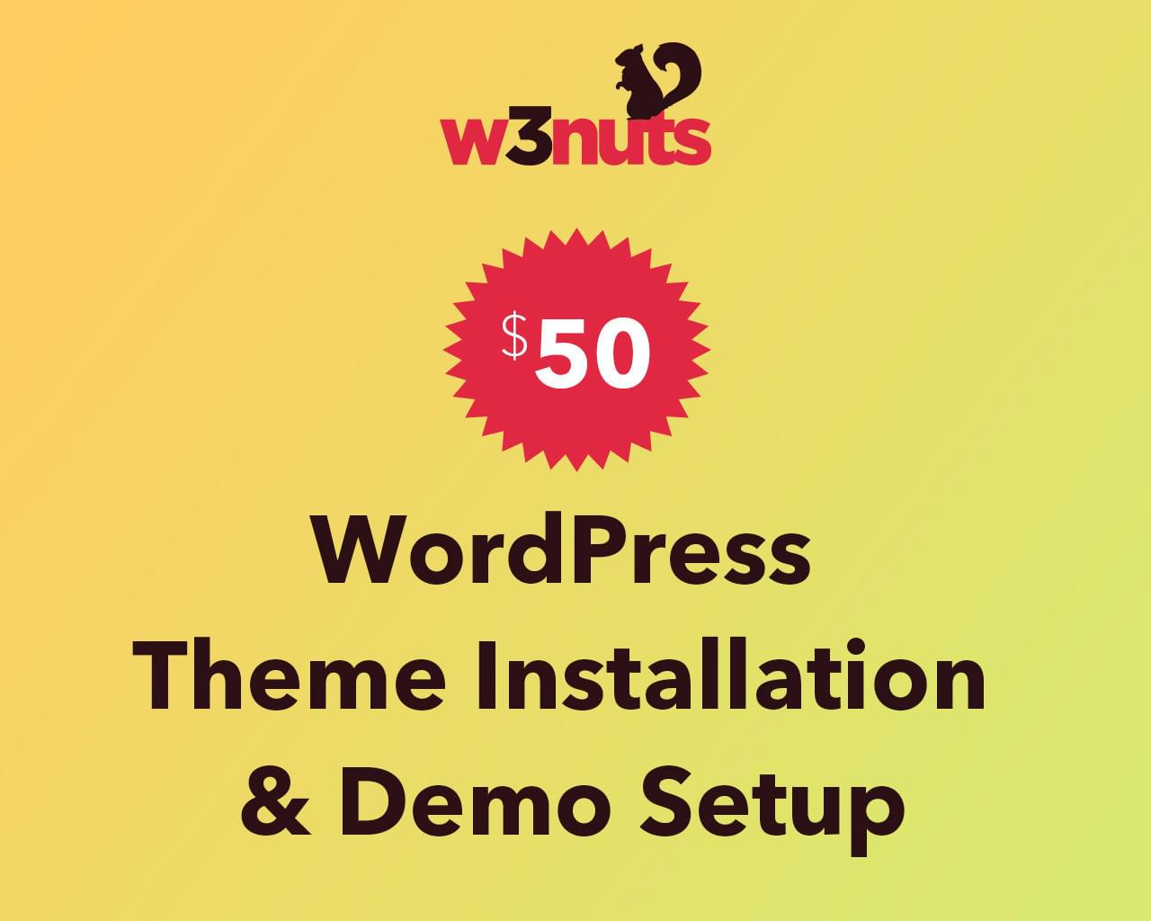 Wordpress Theme Installation & Demo Setup by samirkaila - 116072