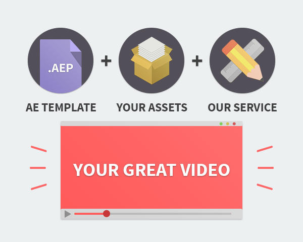 After Effects Template Customization and Render  by mothinkers - 53403