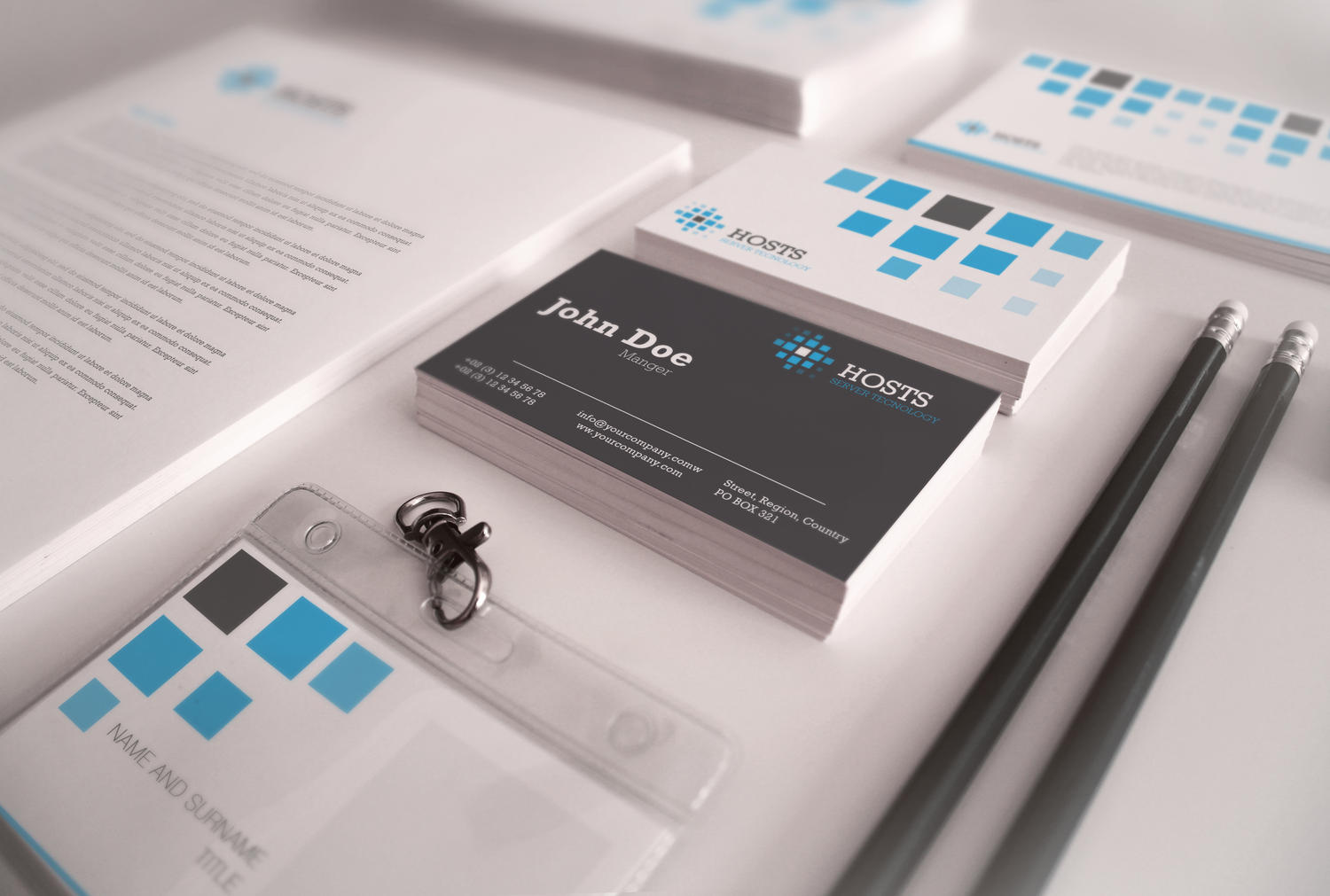 Corporate Identity Design Service by Unicogfx - 5106