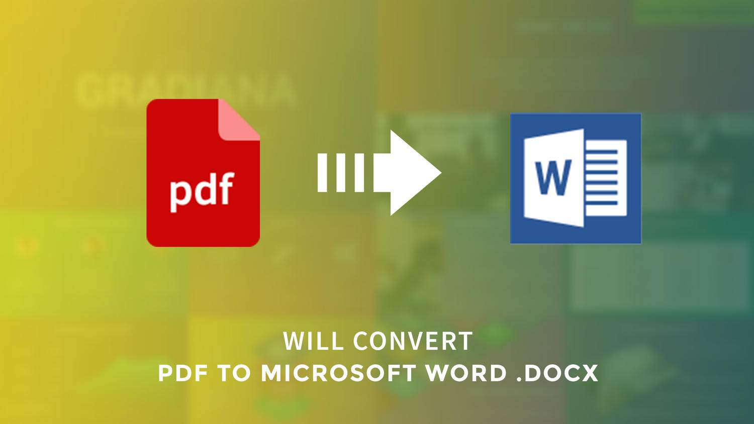 Convert PDF to Microsoft Word by arvaone - 109339