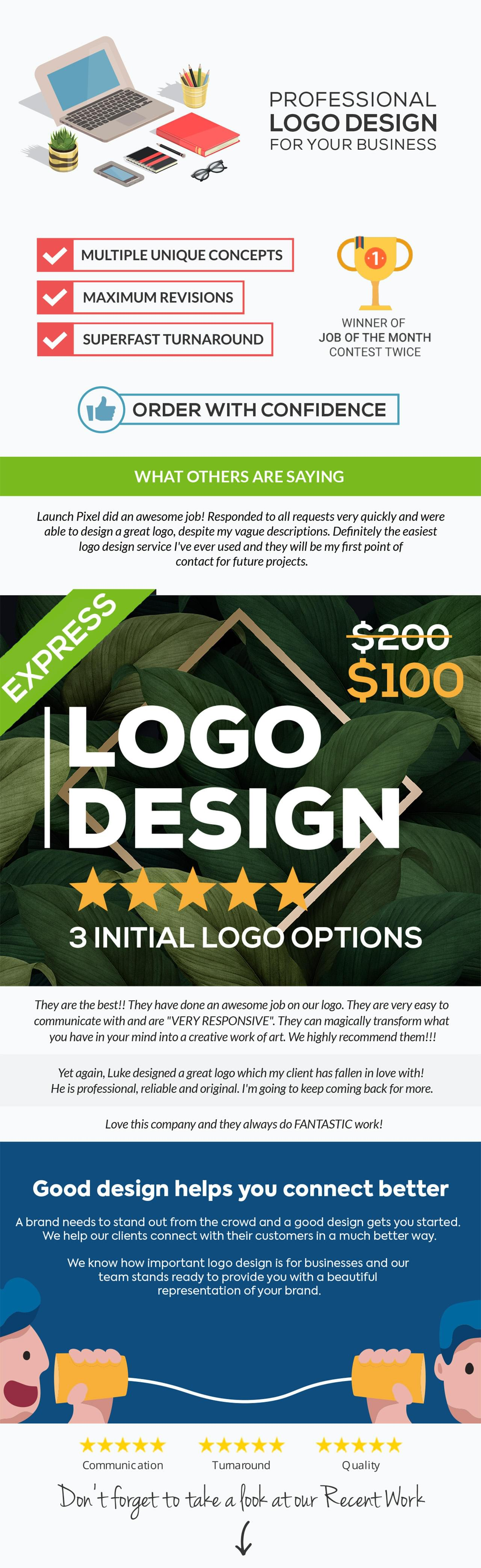 Logo Design by launchpixel - 116201