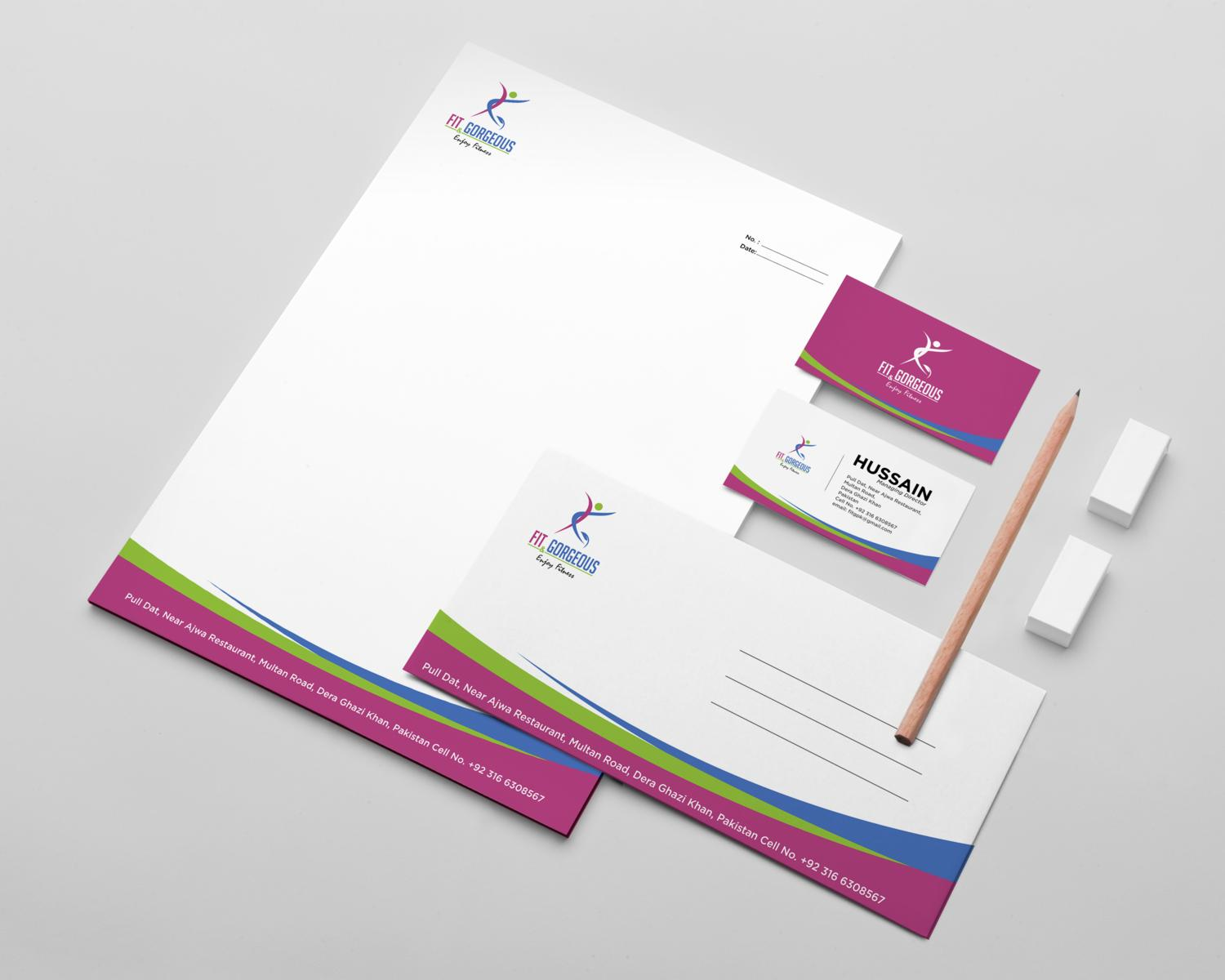 High Professional Stationery Design  by asfai - 99105