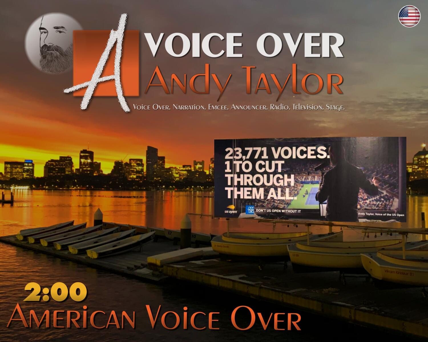 American Voice Over / 2-minutes by StadiumAndy - 118251