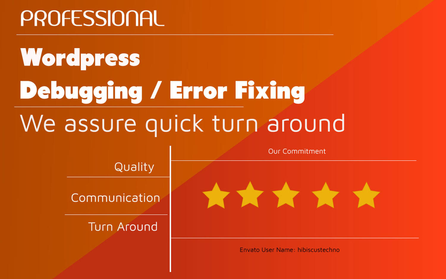WordPress Error/Issue Fixes / Debugging by hibiscustechno - 110392