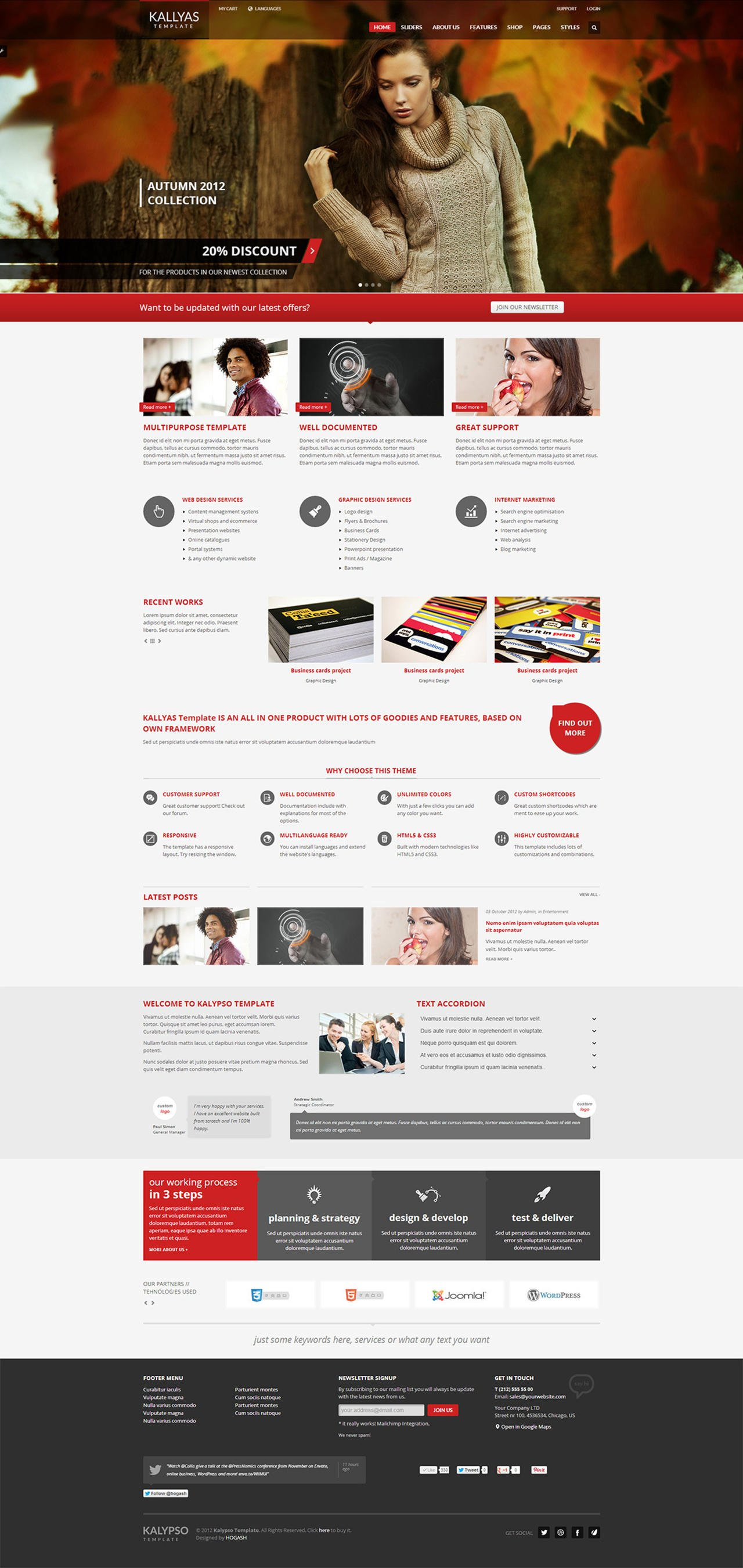 Themeforest Joomla Template Customization  by etrybiz - 87842