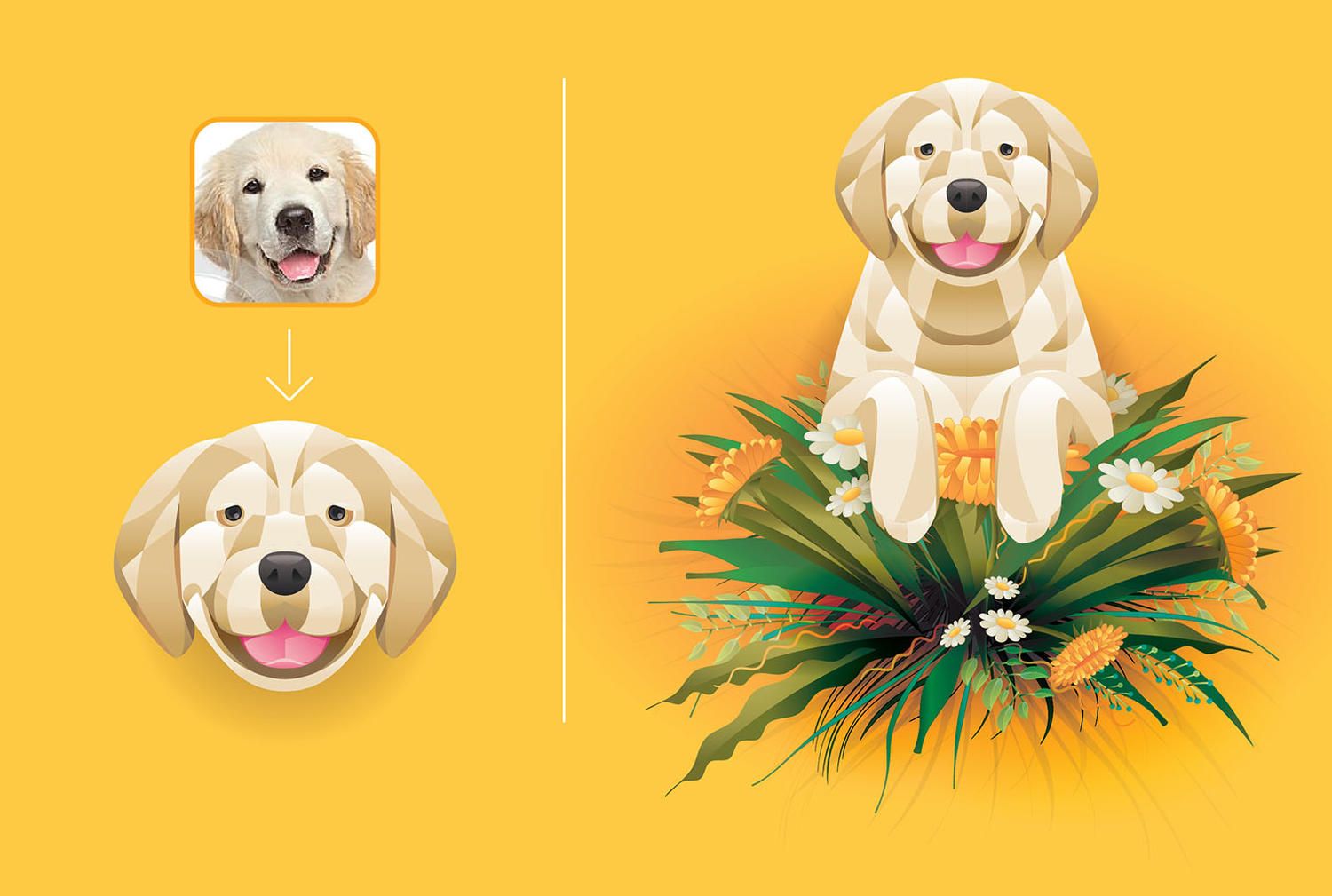 Vector Illustration for pet or animal by ayib - 98444