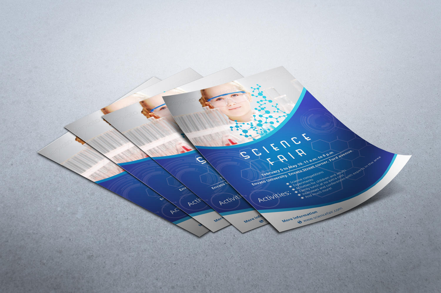 Flyer Template Design Professional by gassh - 36067