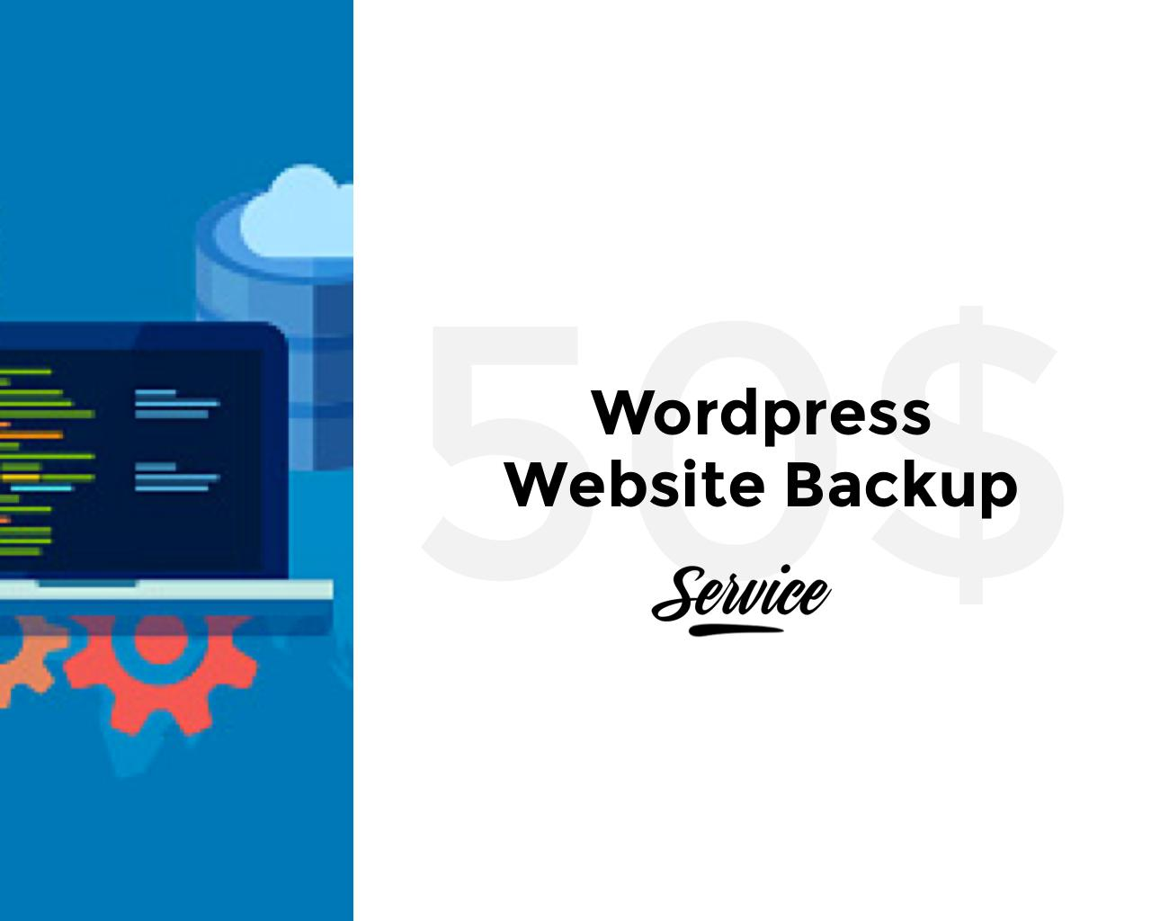 Wordpress Website Backup by pixelthrone - 103939