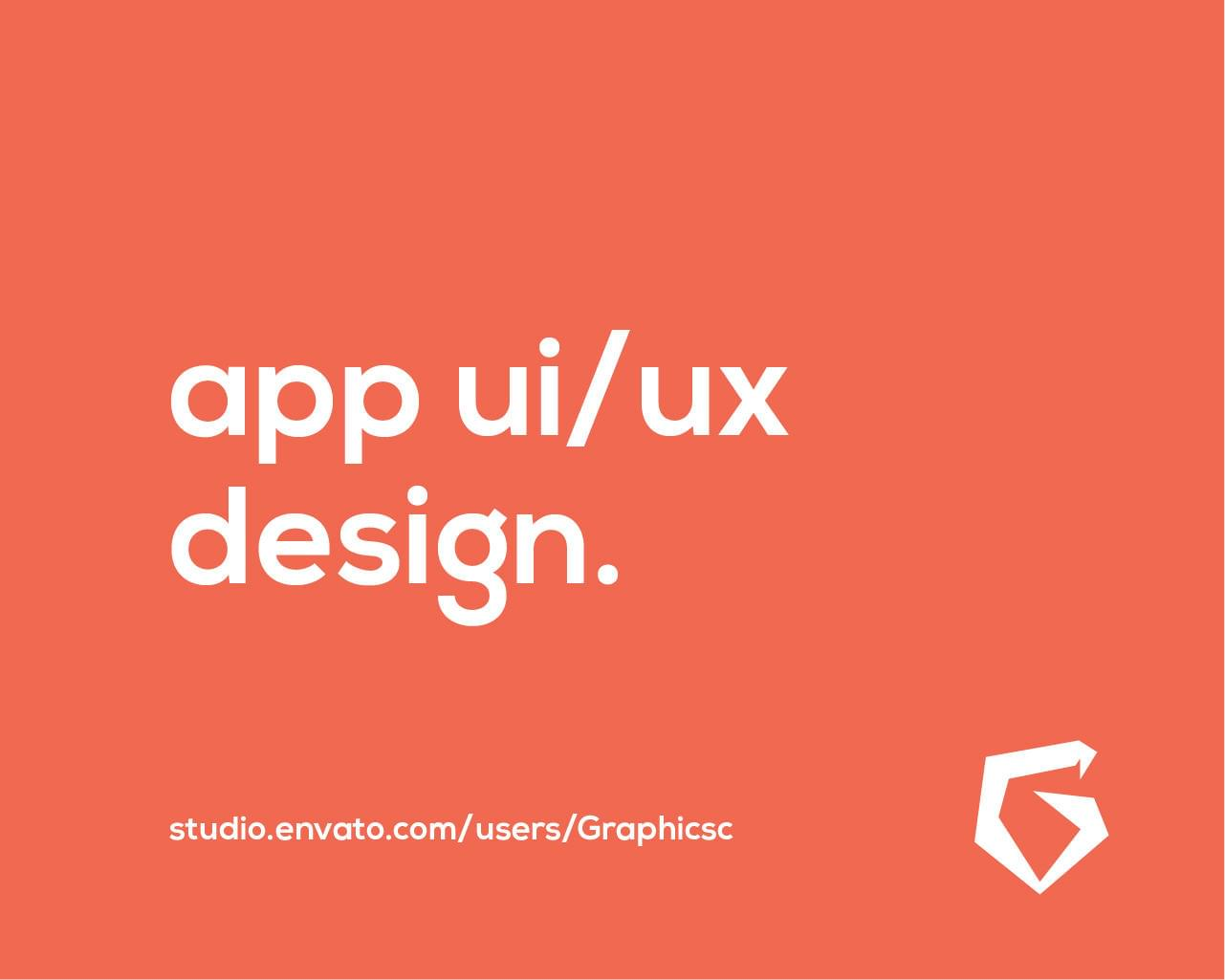 Mobile App UI Designing for iOS and Android by Graphicsc - 112423