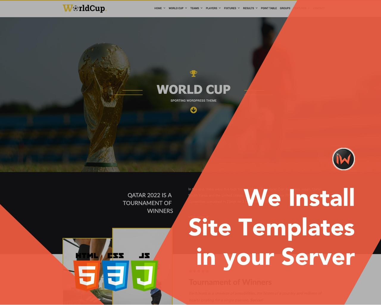 HTML Site Template Setup in your Server by iwthemes - 115187