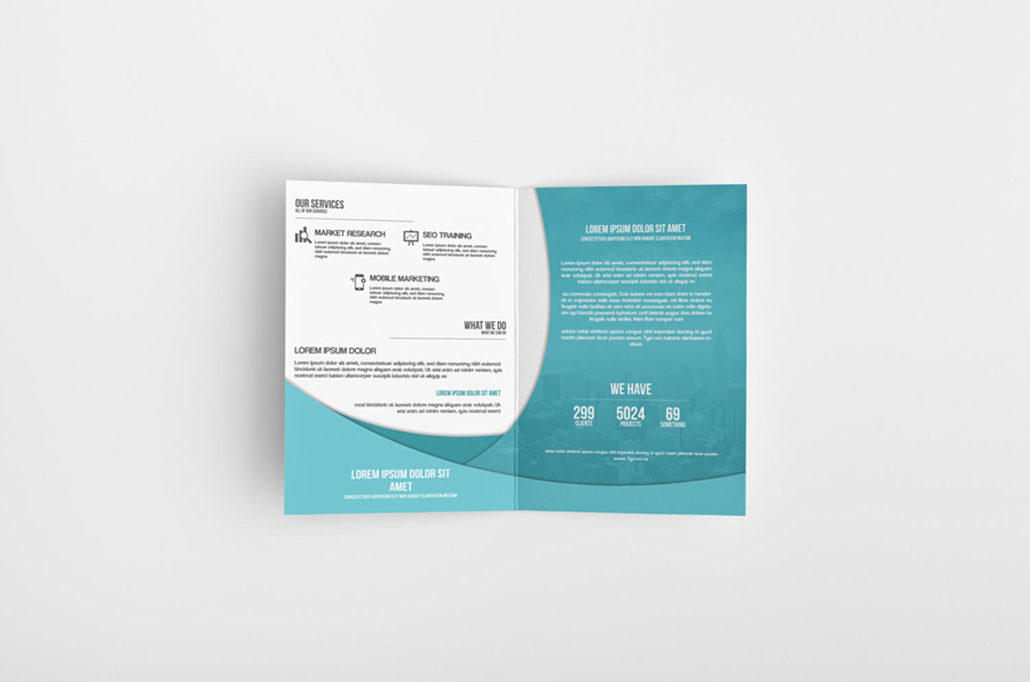Professional Bifold / 4 Page Brochure Design Service by CreativeShop7 - 89323