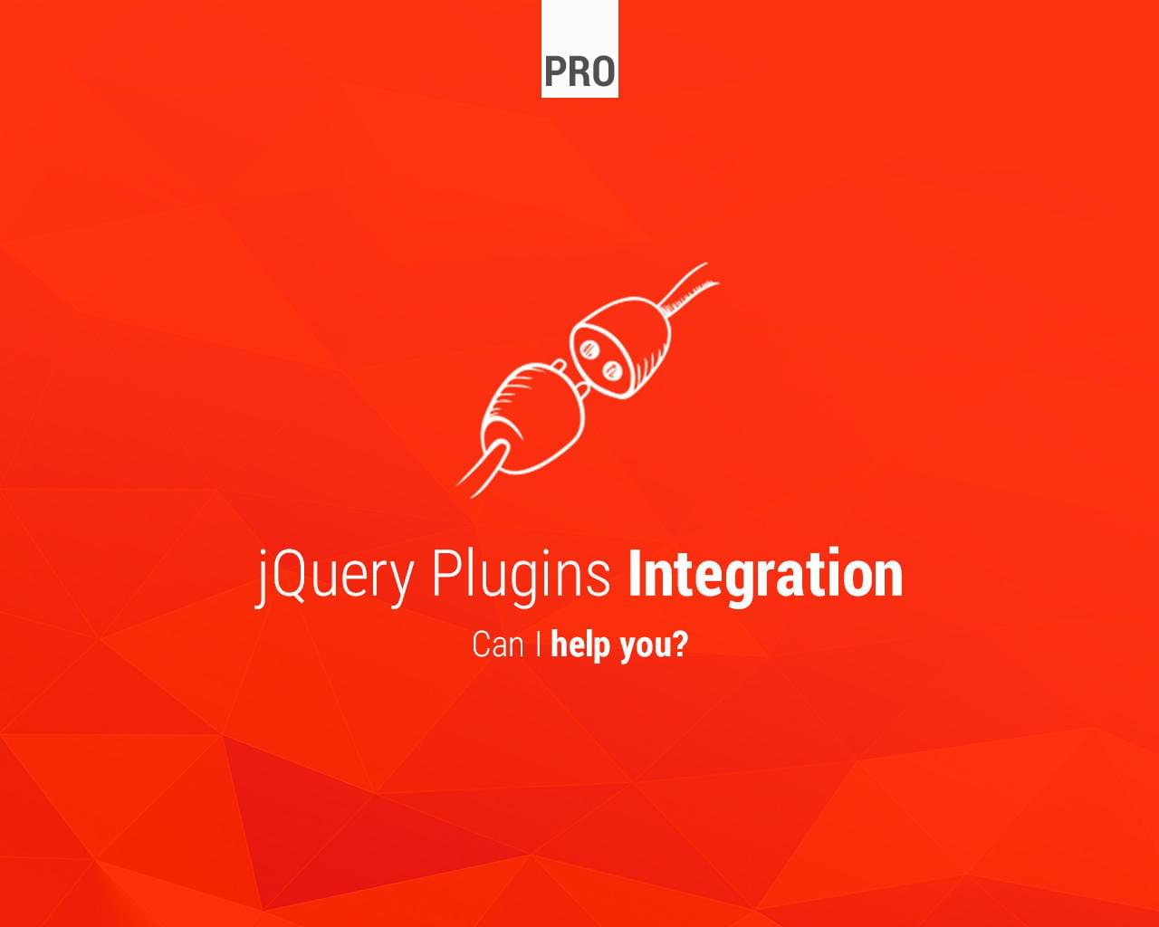 jQuery Plugins Integration by Lukasz_Czerwinski - 113561