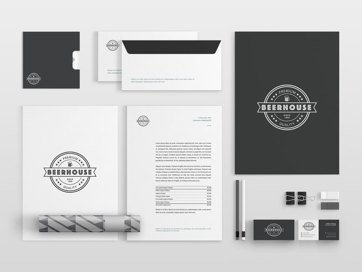 Professional Corporate Identity & Stationery Design by carlos_fernando - 92732